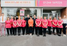 Silviu Bompa of Bright Beautiful Chester with his team of professional housekeepers 1