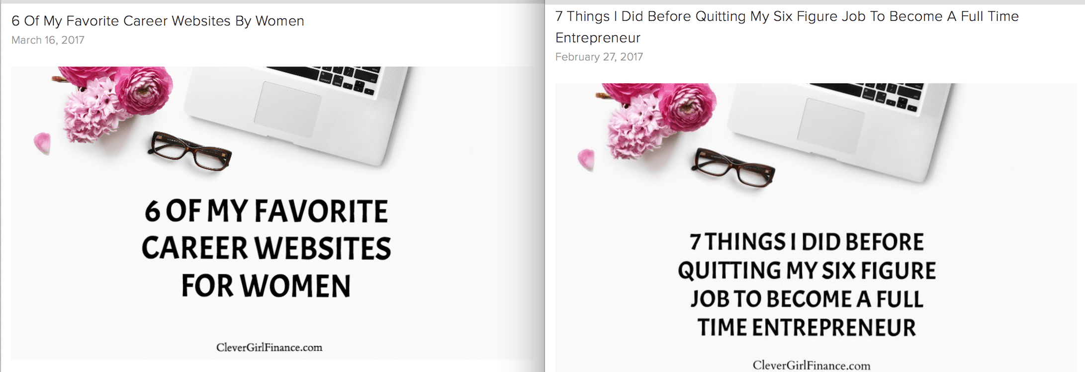 simple WP featured image