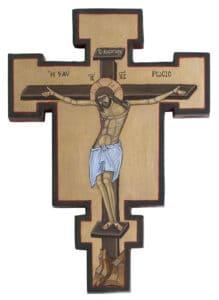 Orthodox Crucifix Sjoukje Zandee 20,5x19cm