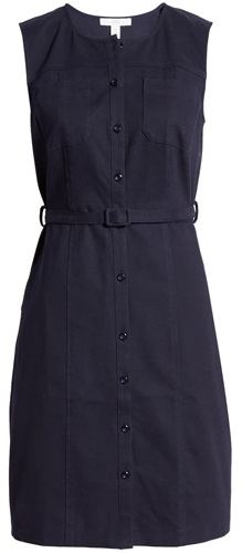 1901 belted dress | 40plusstyle.com