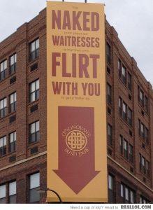 bar humor - creative signage