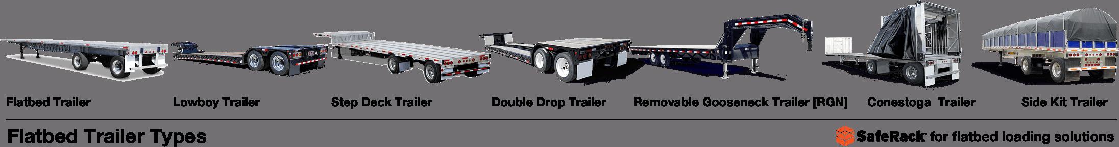 Flatbed Trailer Types