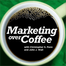 Marketing Over Coffee podcast cover