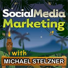 Social media marketing podcast cover