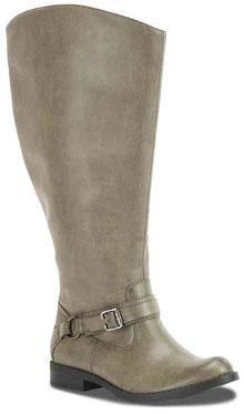 DSW East Street Quinn wide calf boots   40plusstyle.com