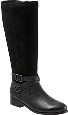 Trotters Larkin knee high boot   40plusstyle.com