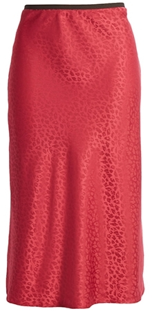 Chelsea28 bias jacquard skirt | 40plusstyle.com