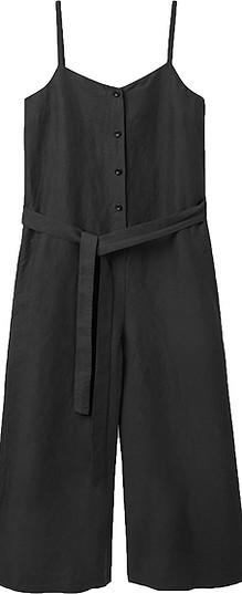 COS linen belted jumpsuit | 40plusstyle.com