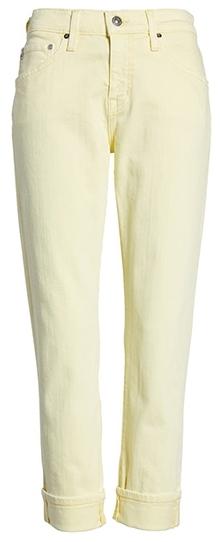 AG crop slim jeans | 40plusstyle.com