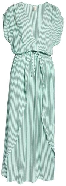Elan wrap maxi cover-up dress | 40plusstyle.com