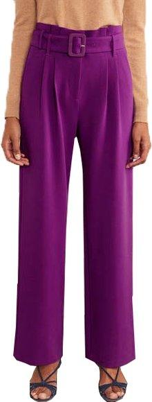 Boden wide leg pants | 40plusstyle.com