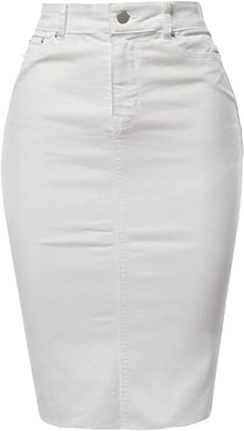 A2Y pencil skirt | 40plusstyle.com