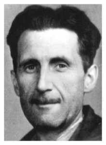 Picture of Geroge Orwell - sourced from Wikimedia Commons and believed to be in the public domain. Reproduced under a Creative Commons licence.