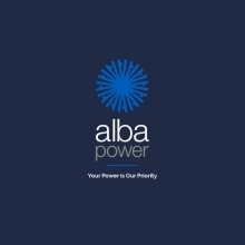 Alba Power Logo Design