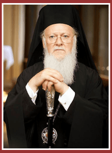 His All Holiness the Ecumenical Patriarch Bartholomew
