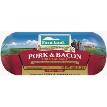 Farmland Pork and Bacon Sausage for Meatloaf