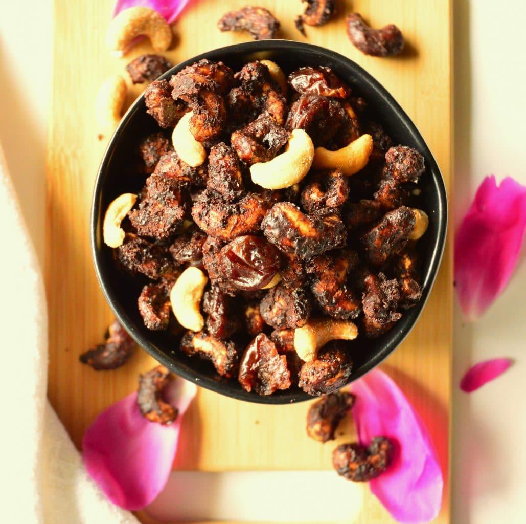 Chocolate Chai Cashews