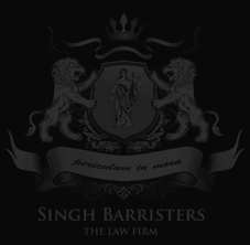 SINGH BARRISTERS Personal Injury Lawyer in Toronto , Brampton