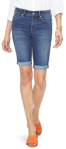 NYDJ roll cuff shorts are among the most stylish clothes options this year | 40plusstyle.com
