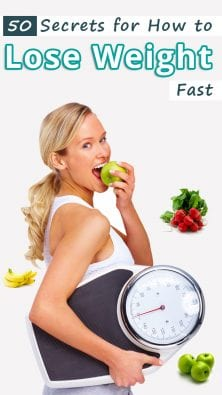 50 Secrets for How to Lose Weight Fast