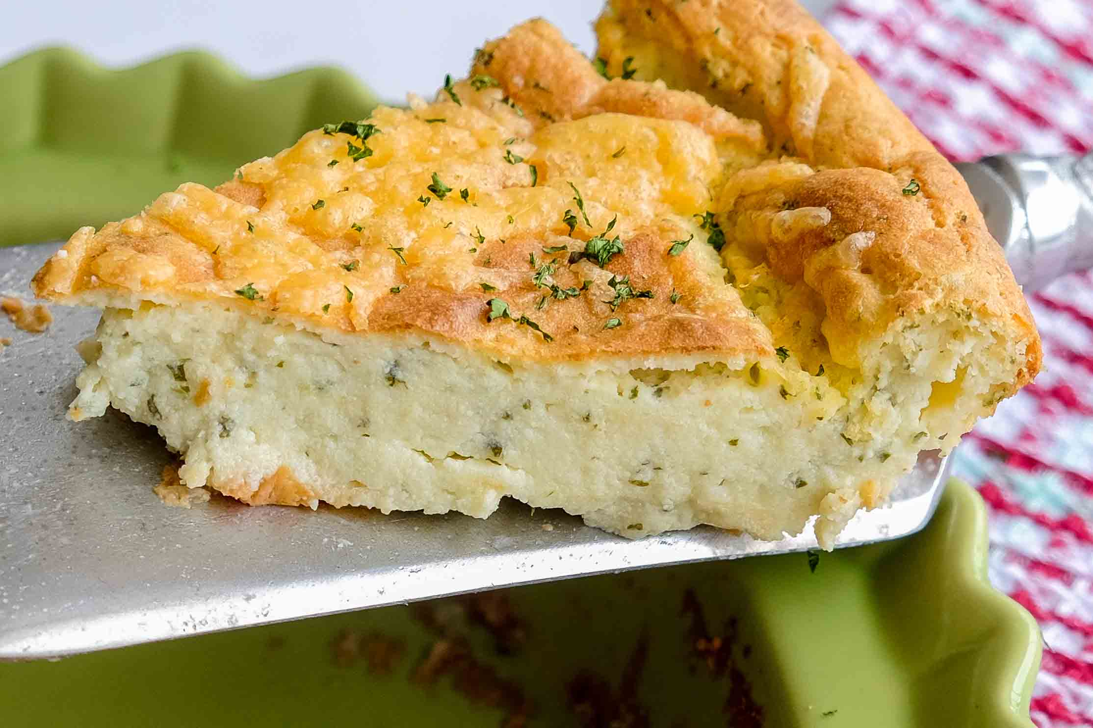 cheesy potato pie