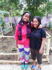 Melat and Bertuka win Earth University scholarship