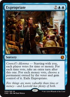 Best Blue Multiplayer Cards MTG Expropriate
