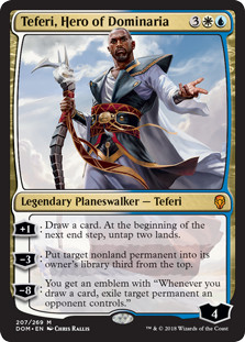 MTG-Standard-Rotation-2019-Teferi-Hero-of-Dominaria-Out
