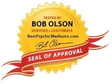 Seal of Approval verified legitimate BestPsychicMediums.com