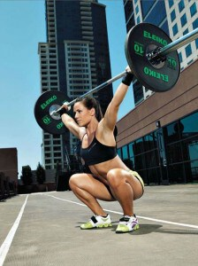 Overhead Barbell Woman