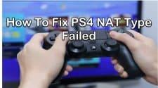 PS4 NAT Type Failed