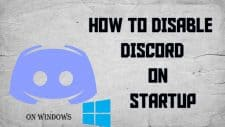 Disable Discord On Startup
