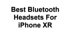 Bluetooth Headsets For iPhone XR