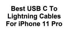 USB C To Lightning Cables For iPhone 11 Pro