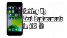 set up text replacements iphone se2020-featured