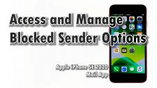 manage blocked senders option iphone se2020-featured
