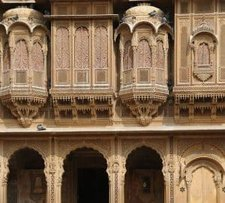 Fort of Curu city in Rajasthan