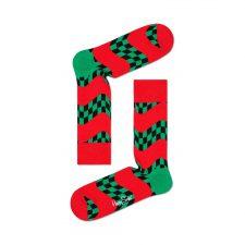 Happy Socks Race Sock Rood