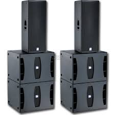 speakers for hire, dB technologies powered speakers, great for speeches, djs and bands