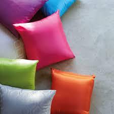 tafetta cushions
