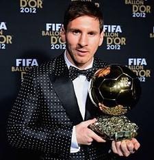 Lionel Messi Biografia Balon de Oro 2012 FIFA