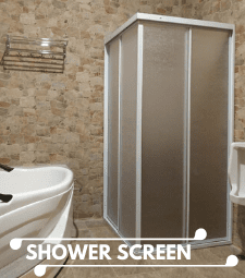 Banner Shower Screen