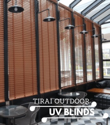 Banner UV Blinds - Cafe