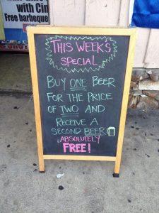 bar humor - creative advertising