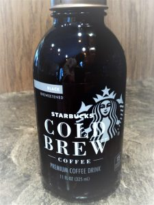 Cold brew tasting starbucks black coffee