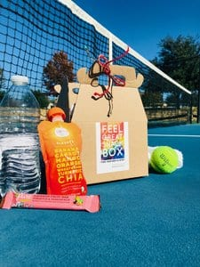 healthy snacks tennis court