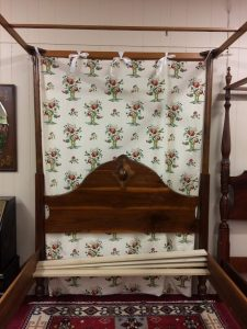 antique colonial bed