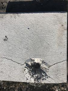 Permacast precast concrete ballistic resistant wall