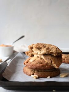 Brown Butter Caramelised White Chocolate Cookies