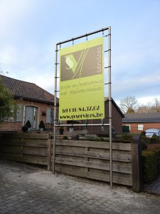 spandoek met blockout